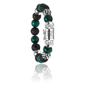 Bracelet spirit bead mix malachite