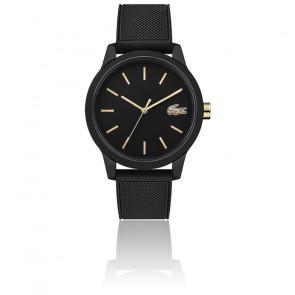 Montre Homme Lacoste 12.12 avec Bracelet Silicone Noir 2011010