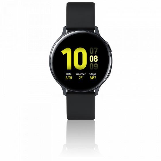 Montre Samsung Galaxy Watch Active 2 SM-R820NZKAXEF Noir Carbone