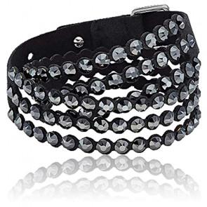 Bracelet Swarovski power collection, noir
