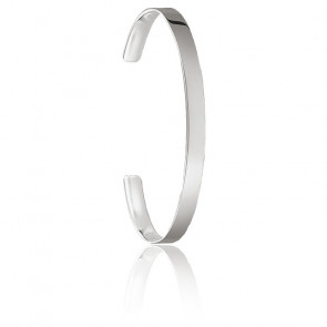 Bracelet jonc Love Cuff, argent, AR087-001-12