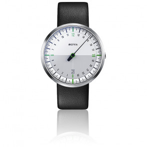 Montre UNO 24 titan Rubber Quartz Blanc / Vert 422010
