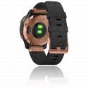 Montre Fenix 6S Sapphire Rose Gold noire  010-02159-37