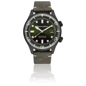 Montre Bradner Cadran Vert Cuir Vert SP-5062-04