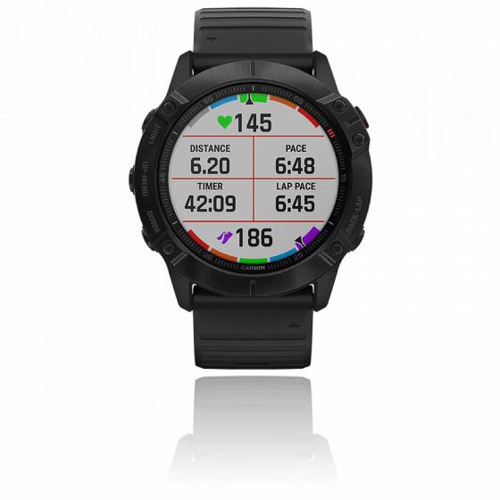 Montre Fenix 6X PRO Gray noire 010-02157-01