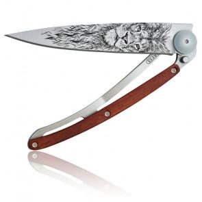 Couteau Lion 37G Bois Corail