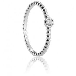 Alliance Artea or blanc 18K & diamant