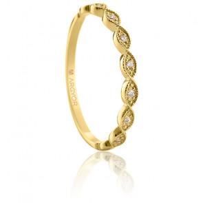 Alliance Luciana Or Jaune 18K & diamants