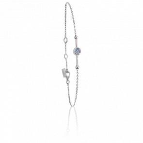 Bracelet Swing Argent & Topazes