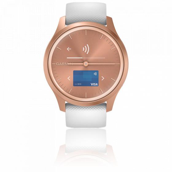 Montre Vivomove 3 Style Rose Gold-White 010-02240-00