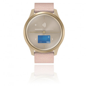 Montre Vivomove 3 Style Light Gold-Dust Rose 010-02240-02
