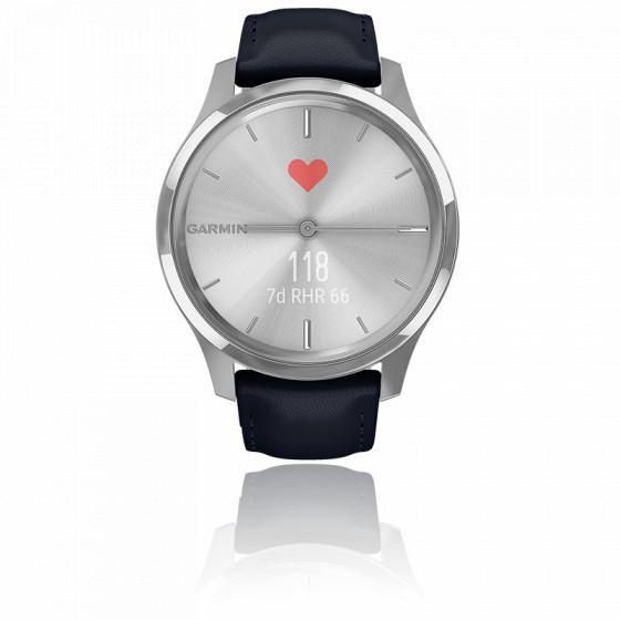 Montre Vivomove 3 Luxe Silver-Blue 010-02241-00