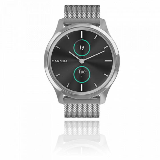 Montre Vivomove 3 Luxe Silver-Black 010-02241-03