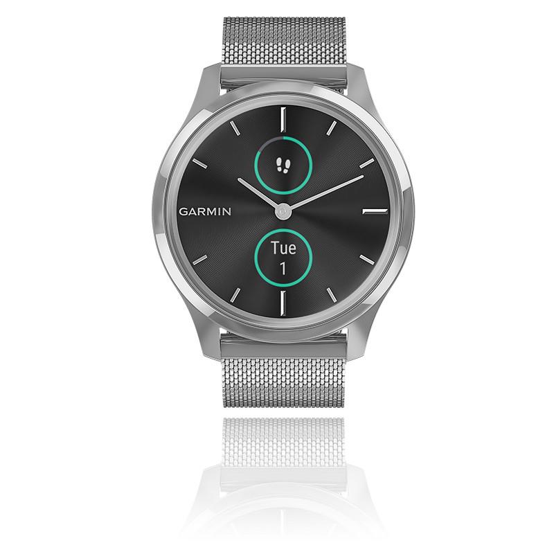 Montre Vivomove 3 Luxe Silver-Black 010-02241-03