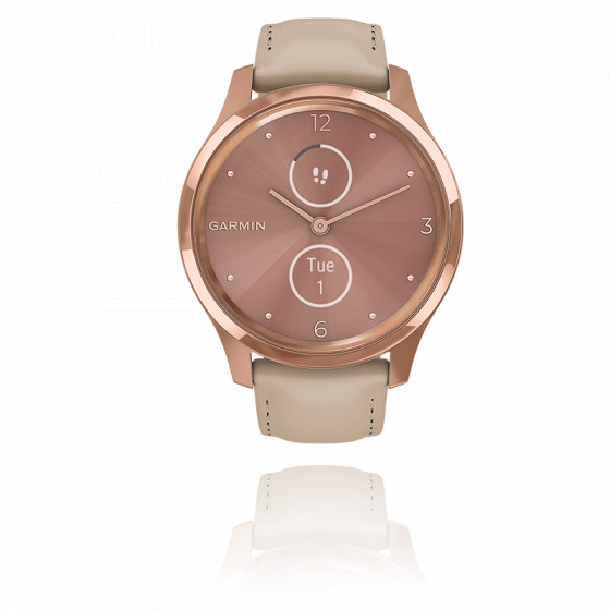 Montre Vivomove 3 Luxe Rose-Gold Beige 010-02241-01