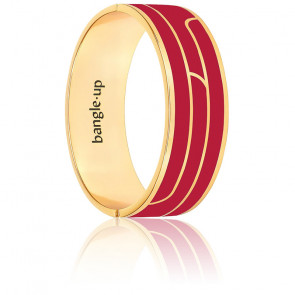 Bracelet gaya rouge velours