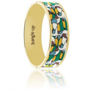 Bracelet jangala vert émeraude