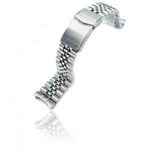 Bracelet Super 3D Jubilee 316L SS221820B117 22mm pour Seiko 5