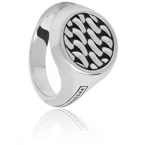 Bague signet ring tangguh chain