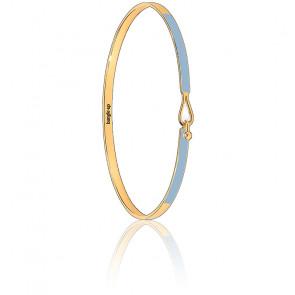 Bracelet Lily bleu glacier