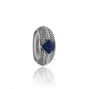 Bague ellen stone lapis lazuli argent 925