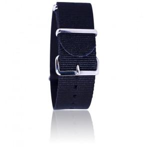 Bracelet BNO Noir 18mm
