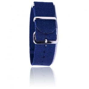 Bracelet BNO Bleu Marine 18mm