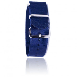 Bracelet BNO Bleu Marine 20mm