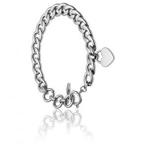 Bracelet acier argenté, JF03279040