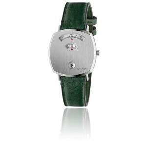 Montre Grip Acier lisse Vert  YA157412