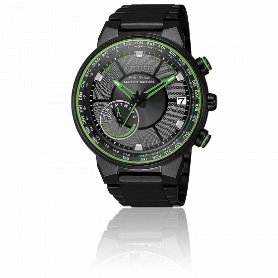 Montre Eco-Drive Satellite Wave GPS CC3075-80E