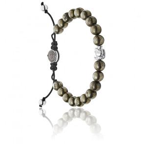 Bracelet mohican pyrite noir, DX1208040