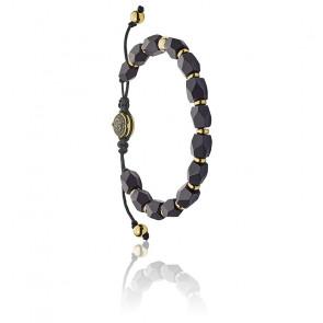 Bracelet stackables perles noires, DX1216710