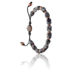 Bracelet stackables perles grises, DX1217791