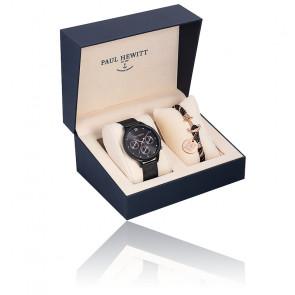 Coffret Montre Everpulse Black Sunray PH-PM-17-L