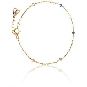 Bracelet navy gold