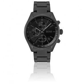 Montre Sport Luxe Chronographe Acier Noir 1513676