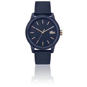 Montre Homme 12.12 Bracelet Silicone Bleu 2011011