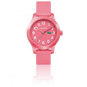 Montre Enfant 12.12 avec Bracelet Silicone rose 2030006