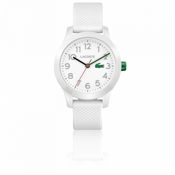 Montre Enfant 12.12 avec Bracelet Silicone blanc 2030003