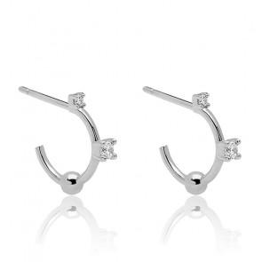 Boucles d'oreilles en argent kaya
