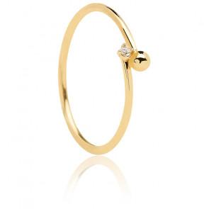 Bague essentia dorée - AN01-130