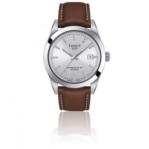 Montre Gentleman Powermatic 80 Silicium T127.407.16.031.00