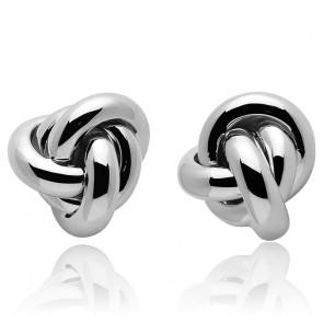 Boucles d'oreilles soho silver