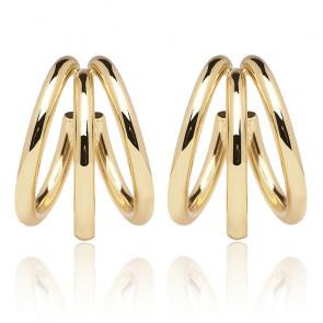 Boucles d'oreilles true dorées AR01-066-U