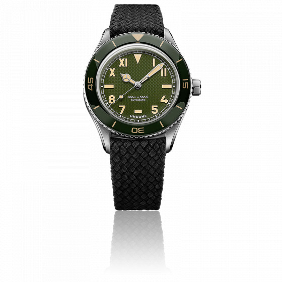 Montre Basecamp Classic Green Auto Homme