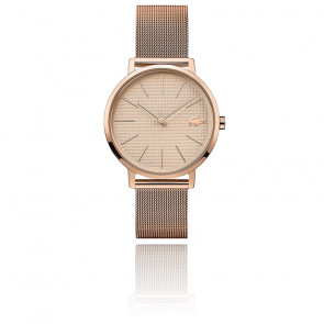 Montre Moon Acier Or Rose 2001080