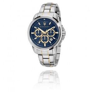 Montre Successo Silver Bleu R8873621016
