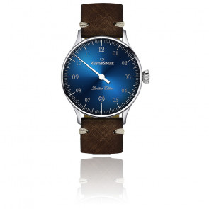 Montre Limited Edition bleu date ED-FR19