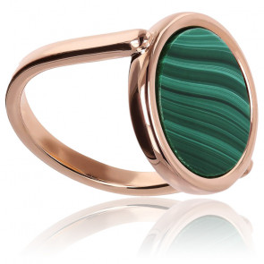 Bague cosmo color, malachite